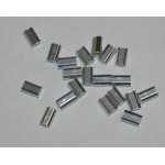 Crimp Alloy SingleMini 1.0mmx9mm 1000pcs per bag